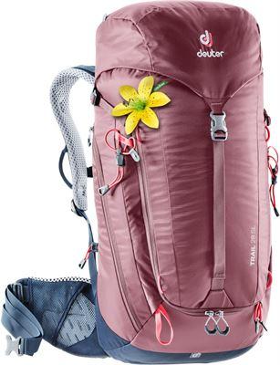 33e1811b9c4 Deuter Trail 28 SL rugzak Dames rood 2019 Trekking- & Wandelrugzakken