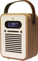 Stereoboomm Woodbox PLUS - bluetooth speaker & DAB+ radio