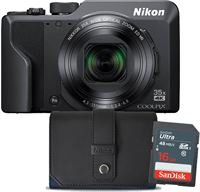 Nikon Coolpix A1000 Zwart + 16GB + Tas