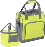 Basis - Sterke koeltas set - 25 + 10 Liter - Coolerbag - Groen
