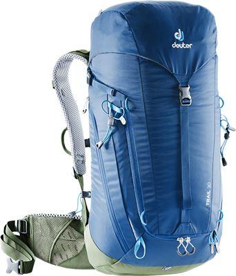 4cd516db1ee Deuter Trail 30 Backpack steel/khaki Rugzak Blauw