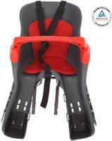 HTP kiki - Fietsstoeltje voor - met beugel - cs202t donkergrijs