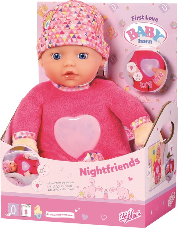 Zapf Creation BABY born First Love Nightfriends