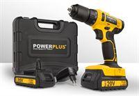 Powerplus POWX00435 Schroefboormachine - 20V Li-ion - incl. 2 accu's