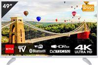 Hitachi 49HK6003W TV 49 inch (125 cm) DLED SMART TV met ingebouwde Wi-Fi Ultra HD Wit