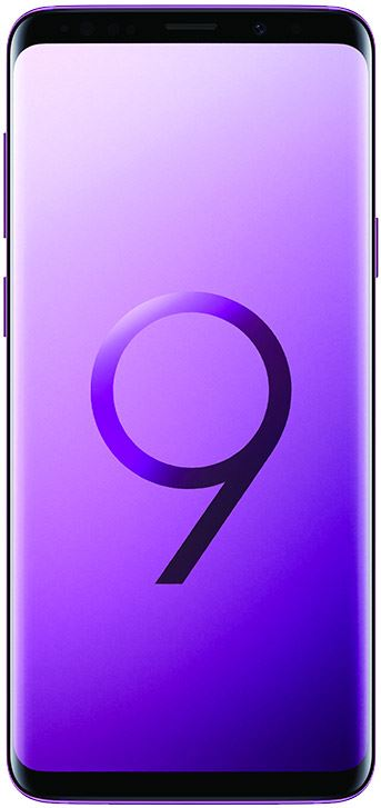- Samsung Galaxy S9+ 64 GB / paars