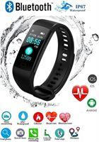 Drphone V3 Light - Activity Tracker - Fitness Monitor - Activiteit Tracker - Sporthorloge - Kleurenscherm - Hartslagmeter - Hartslagsensor - Stappenteller - Bloeddrukmeter - Zuurstofmeter - Alarm - Facebook / Twitter / SMS + Handleiding