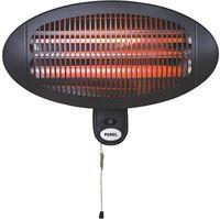 Perel PHW2000 Hangende electrische terrasverwarmer 2000 Watt