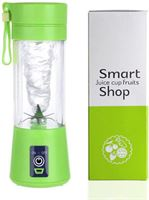jet blender JetBlender - Portable blender - Oplaadbaar - Draadloos - Verse smoothies - 380 ml - Duurzaam - Healthy - Verse baby-/peuterhapjes - Blender Bottle - Groen