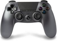 Under Control - PS4 bluetooth controller met koptelefoon aansluiting - Zilver