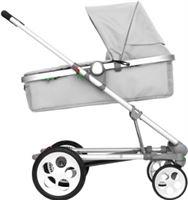 SEED Kinderwagen Pli Plus silver - Grijs