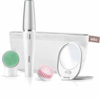 Braun FaceSpa 853V 3-in-1 Gezichtsepilator En Reinigingsborstel, Voor Ontharing, Reiniging