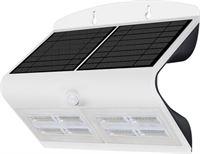 V-tac VT-767-7 LED solar wandlamp met bewegingsmelder - 7W - 800 Lm - 4000K - wit - zonne-energie