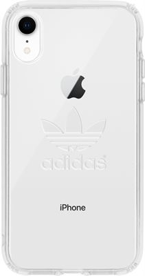 8762e242f94 Adidas Clear Backcover hoesje voor de iPhone Xr - Transparant