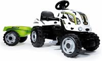 smoby Tracteur Farmer Xl Vache + Remorque
