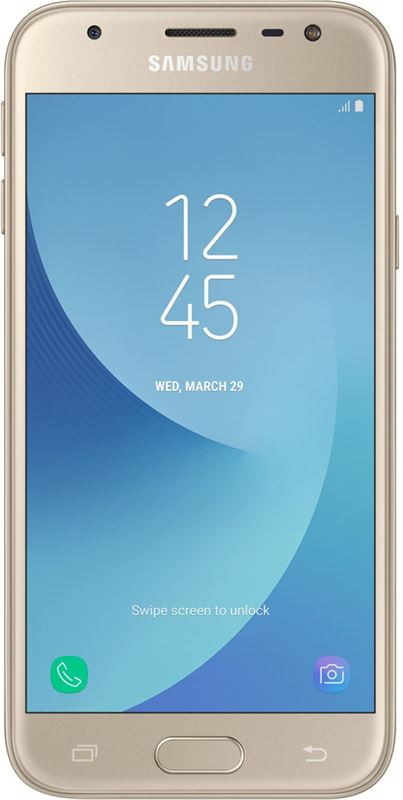Samsung Galaxy J3 (2017) 16 GB / goud