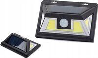 Brauch Buitenlamp op Zonne Energie Met Sensor – LED COB Solar Buitenverlichting voor Tuin zonder Stroom