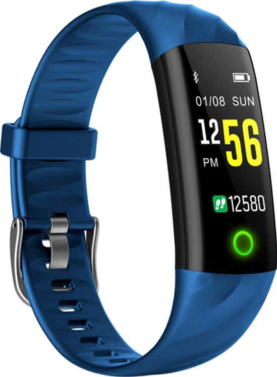 - S5-Stappenteller-Armband-Activity Tracker-Blauw-Smart-App
