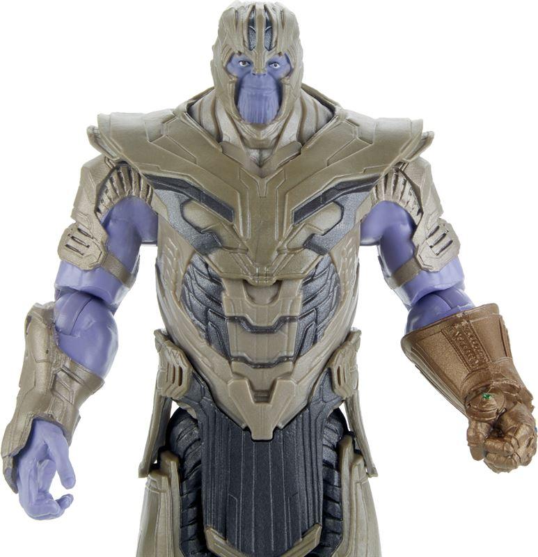 Thanos con accessorio/ Marvel Avengers Action Figure, 15 cm Endgame