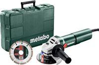 Metabo W 1100-125 Set Haakse slijper 125mm