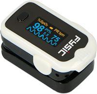 Fysic FPO-11 Saturatiemeter Goedkope saturatiemeter nauwkeurig en snel zelf meten Zwart