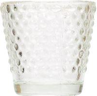 Cosy&Trendy THEELICHTHOUDER GLAS D6.2XH6.2CM