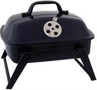 Kynast Barbecue - Grill - Draagbaar - Ideaal voor Festivals, Camping, Picknick - 35,5x29x30cm