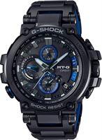 Casio MT-G Metal Twisted Bluetooth horloge - Zwart