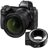 Nikon Z6 full-frame systeemcamera met Z 14-30mm 1:4 S en FTZ adapter
