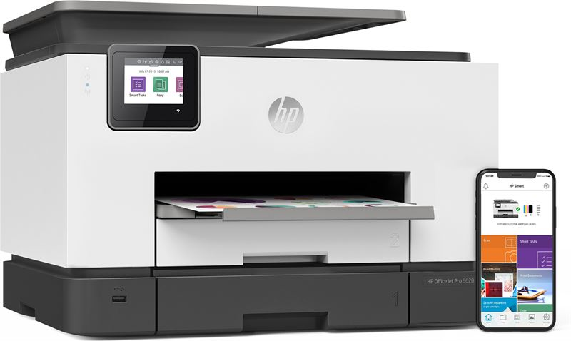 HP Pro OfficeJet Pro 9022 All-in-one wireless printer Print,Scan,Copy from your phone, Instant Ink ready & voice activated (works with Alexa and Google Assistant)