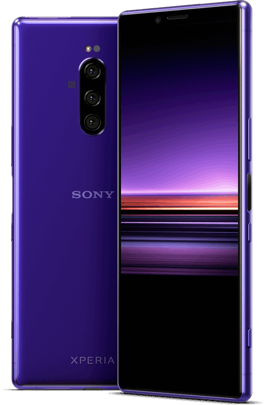 Sony Xperia 1 128 GB / paars / (dualsim)