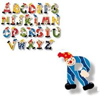 Simply for Kids Houten naam letter R