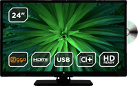 ok. TV OLE24641H-DBDVD 24 EDGE LED CD HD-Ready
