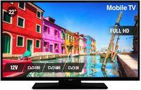 """Nikkei 22"""" full HD led tv met DVB-S2/C/T2-tuners"""