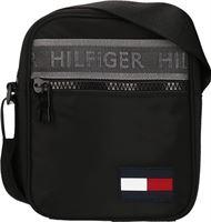 3a3135b3745 Tommy Hilfiger Tommy Hilfiger Men Sport Mix Mini Reporter black Zwart