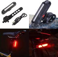 Pro Sport Lights Fietsverlichting Rood achteraan 100 Lumen+ LED USB oplaadbaar