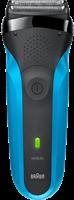 Braun Series 3 310s Oplaadbaar Wet&Dry Elektrisch Scheerapparaat, Blauw