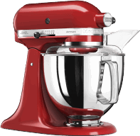 KitchenAid 5KSM125EER & 5KSMVSA