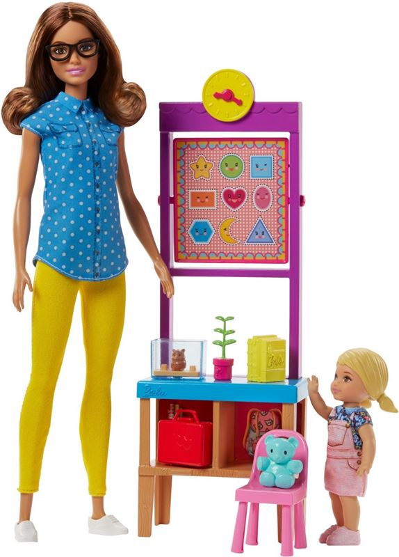 Barbie Careers Lerares Speelset - Barbiepop
