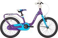 s'cool niXe 16 kinderfiets alloy violet/blauw