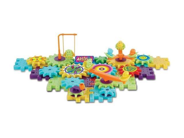 Funny bricks educatief bouwspeelgoed doos met 87 bouwdelen type 5960 2
