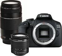 Canon EOS 2000D + 18-55mm DC III + 75-300mm III