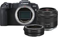 Canon EOS RP Body + EF - RF Mount Adapter + RF 35mm F/1.8 IS Macro STM