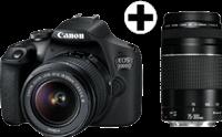 Canon EOS 2000D 18-55mm DC + 75-300mm DC