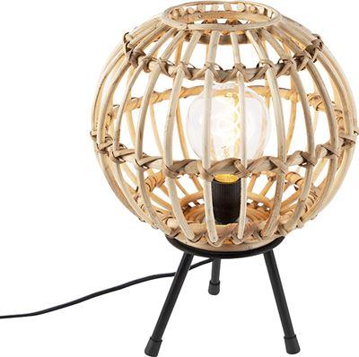 QAZQA Landelijke tafellamp Canna verlichting kopen