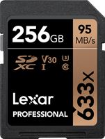 Lexar Professional 633x SDHC 256GB - 95 MB/s UHS-I