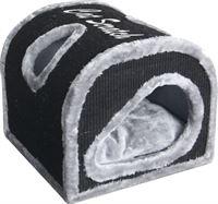 Gebr. de Boon Krabhuis cocoon 40x40x35 cm grijs/zwart