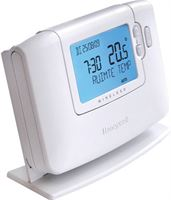 Honeywell chronotherm klokthermostaat draadloos 24v wireless wit cms927b1015