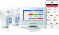 Honeywell Evohome Console + 2 HR92 Radiatorknoppen