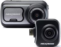 Nextbase 422GW dashcam + rear facing camera wide